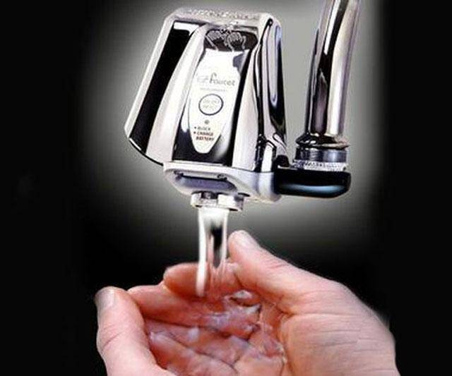 Touch Free Water Faucet Adapter