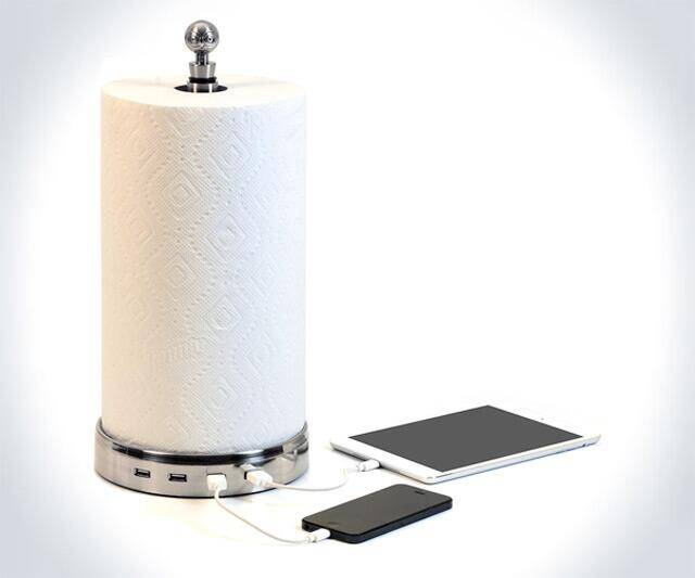 USB Paper Towel Charger