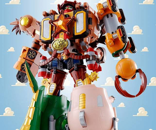 Toy Story Voltron - http://coolthings.us