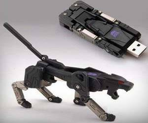 Transformer USB Flash Drive - http://coolthings.us
