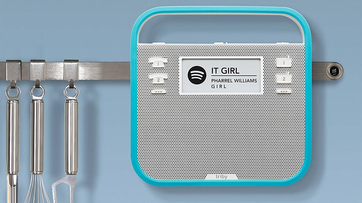 Triby - Connected Speaker for the Kitchen - coolthings.us