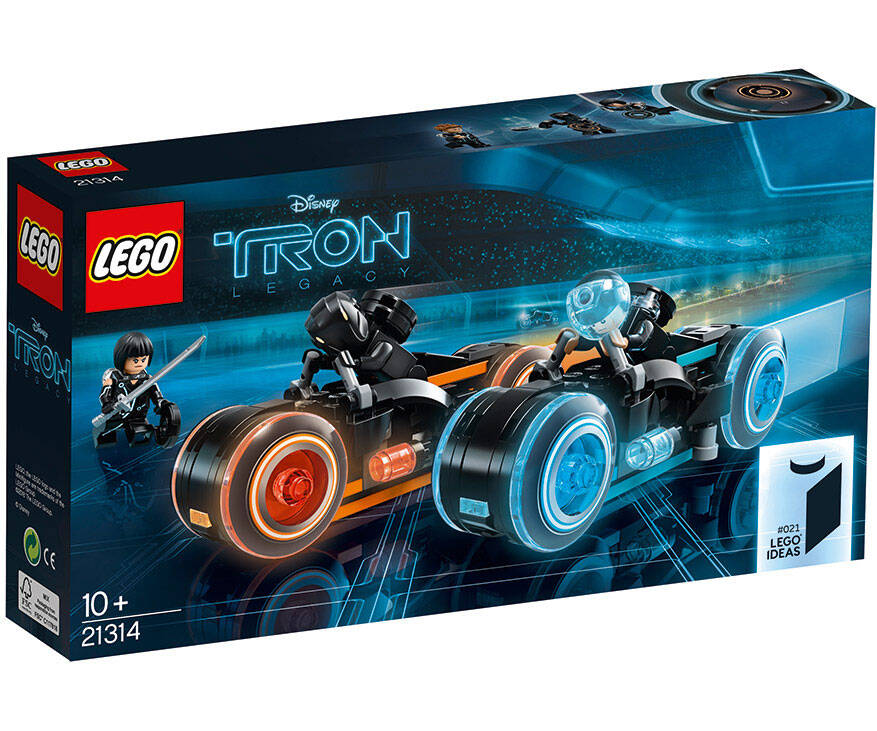 TRON Legacy LEGO Bike Set - http://coolthings.us