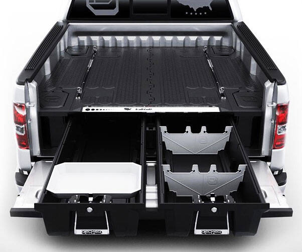 Truck Bed Organizer - http://coolthings.us