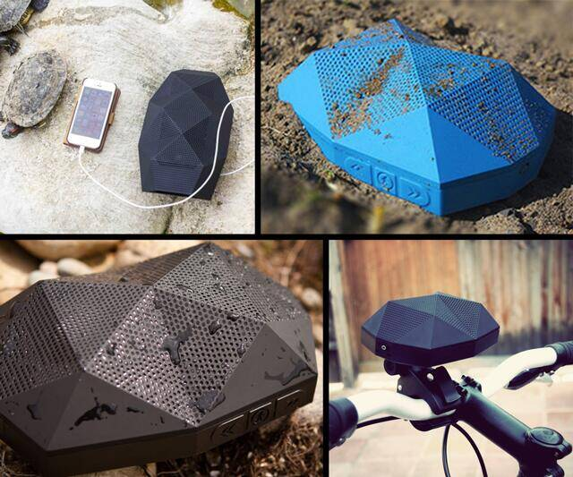 Turtle Shell Wireless Boombox - http://coolthings.us