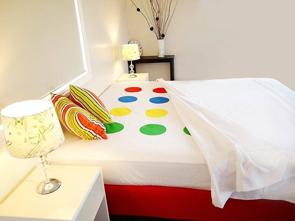 Twister Bed Sheets - http://coolthings.us