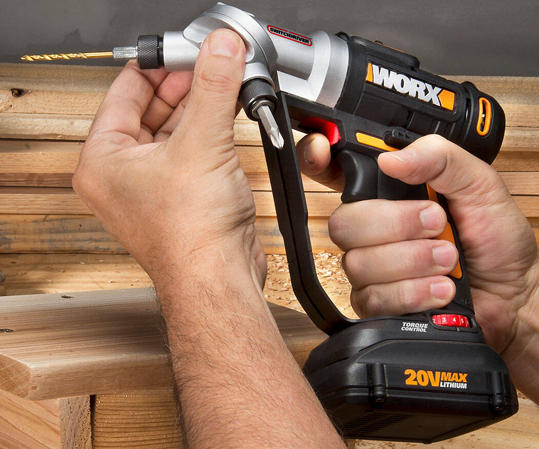 2-In-1 Switch Drill & Driver - http://coolthings.us