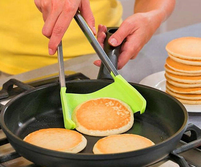 2-in-1 Tongs & Spatula - http://coolthings.us