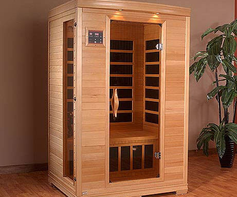 Two Person Indoor Sauna - http://coolthings.us