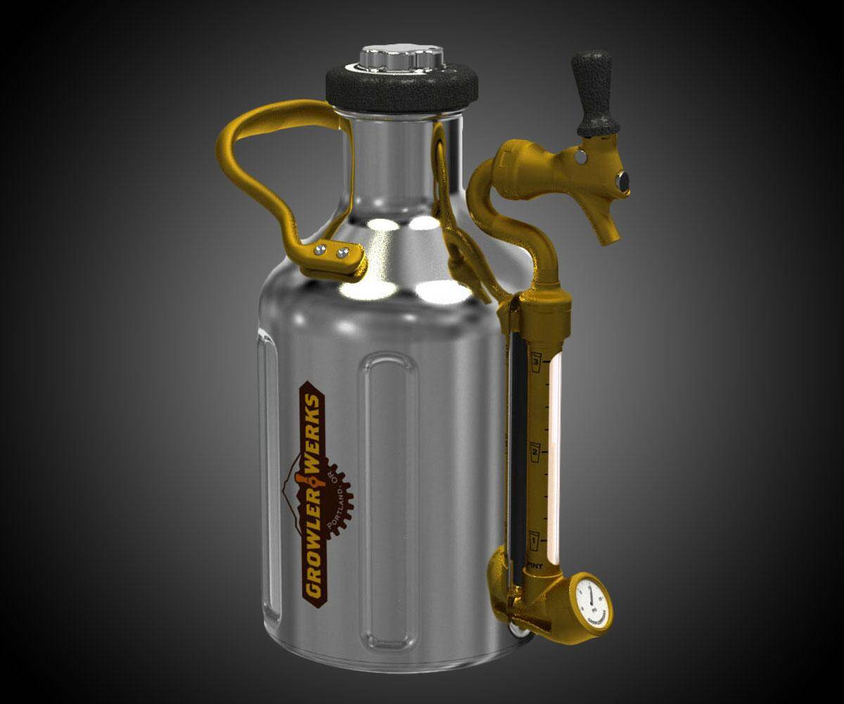 uKeg Pressurized Growler - http://coolthings.us