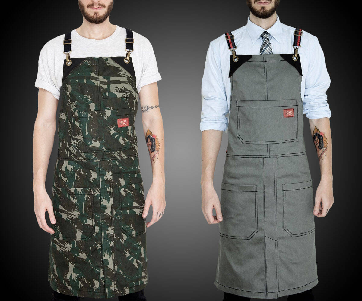 Under NY Sky Aprons - http://coolthings.us