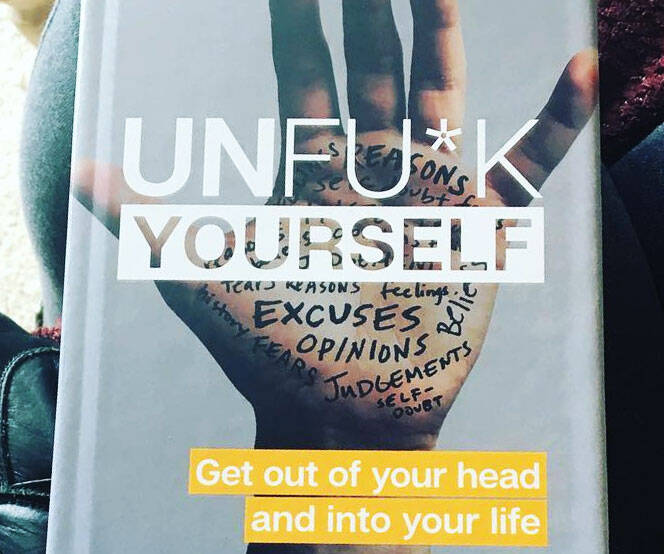 Unf*ck Yourself Book - http://coolthings.us