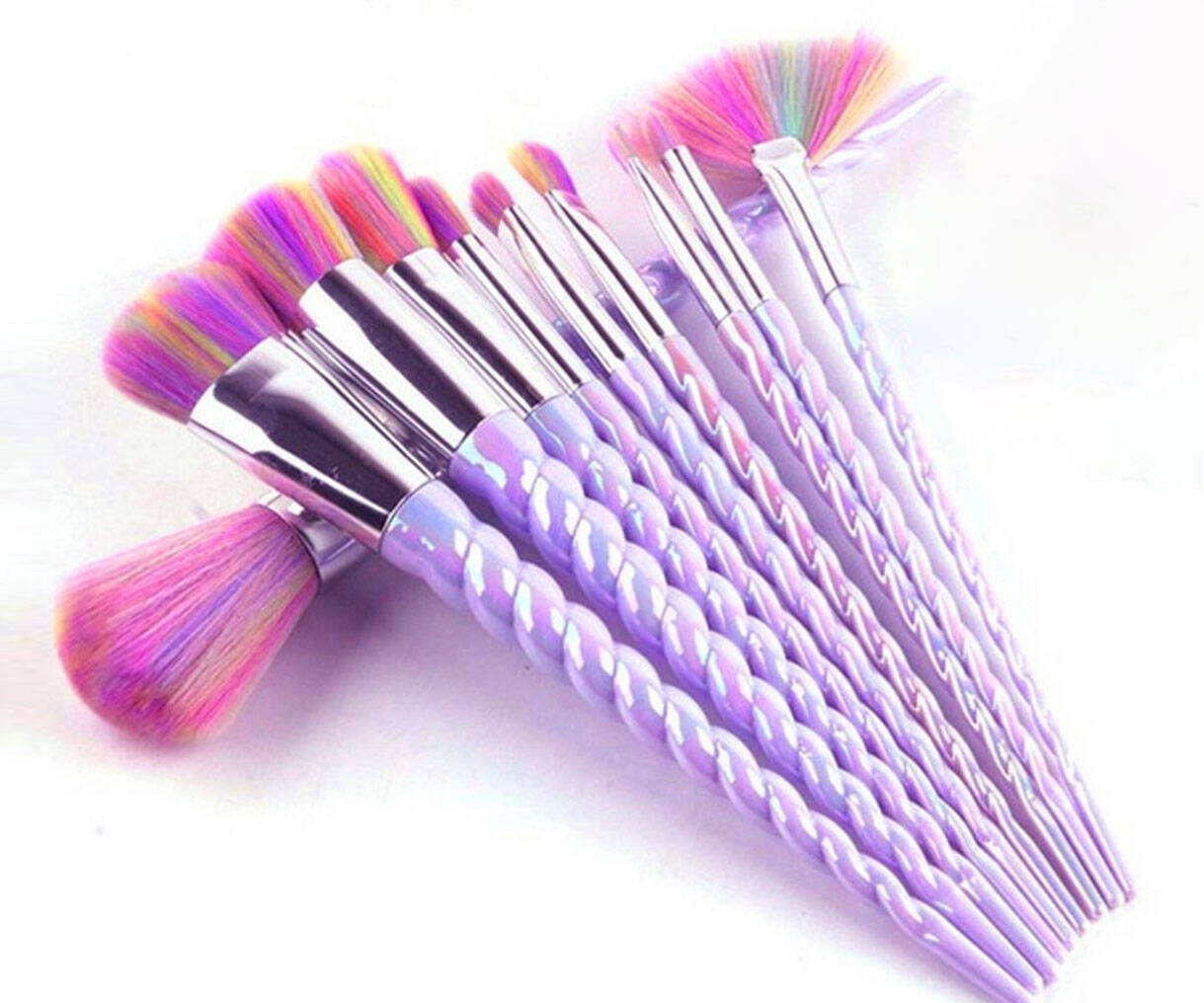 Unicorn Horn Makeup Brushes