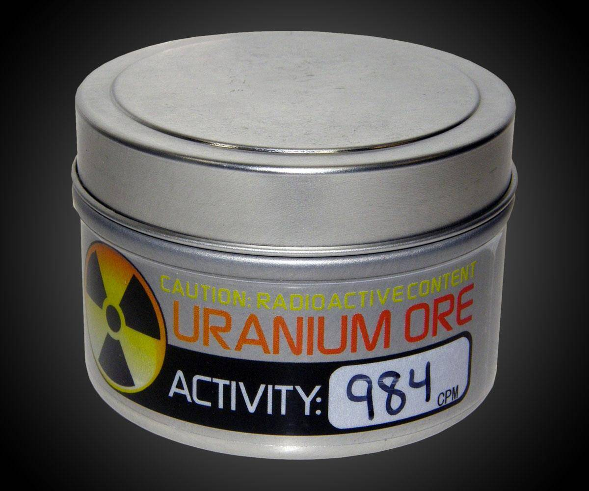 Uranium Ore - http://coolthings.us