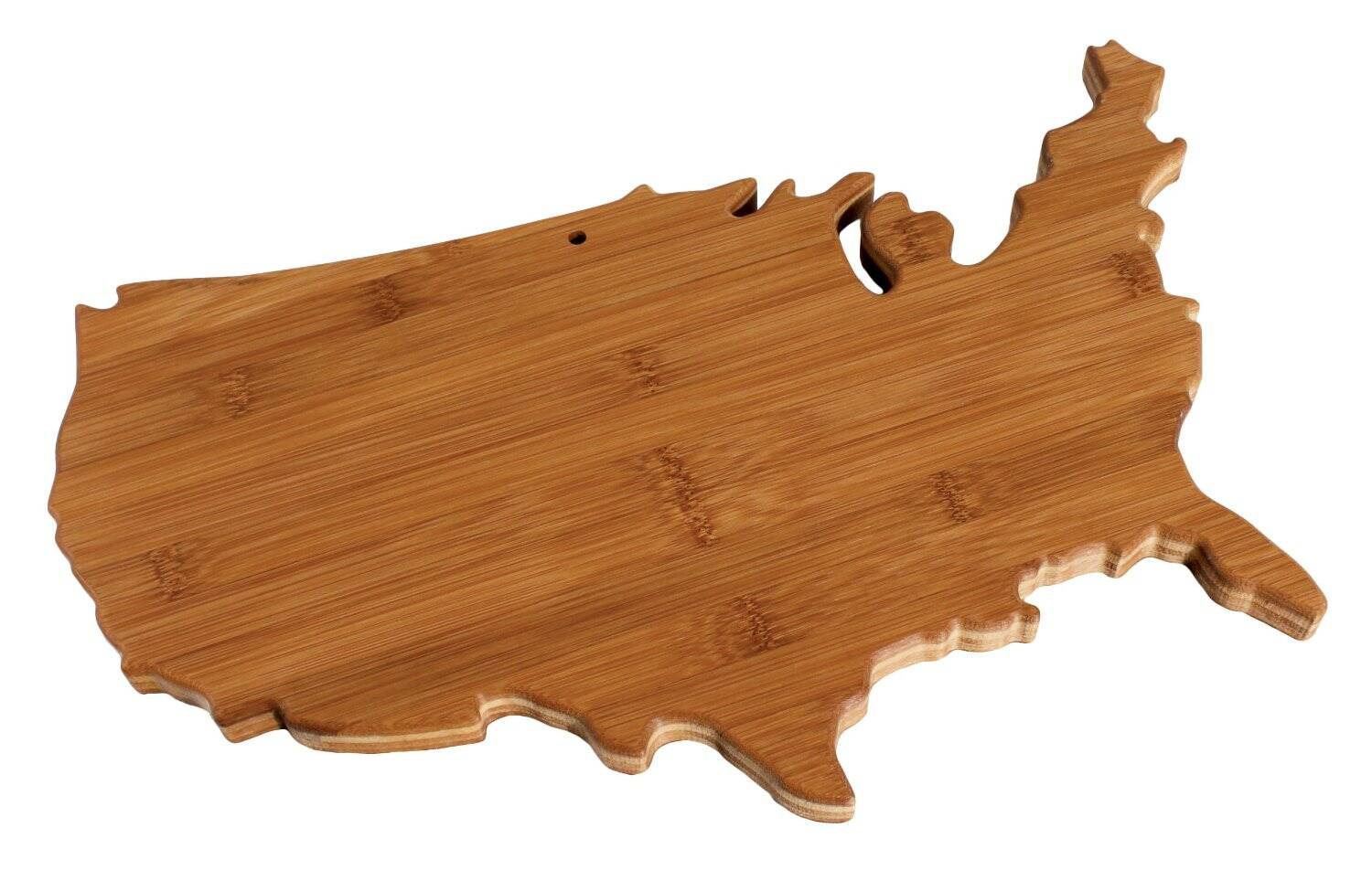 USA Bamboo Cutting Board - http://coolthings.us