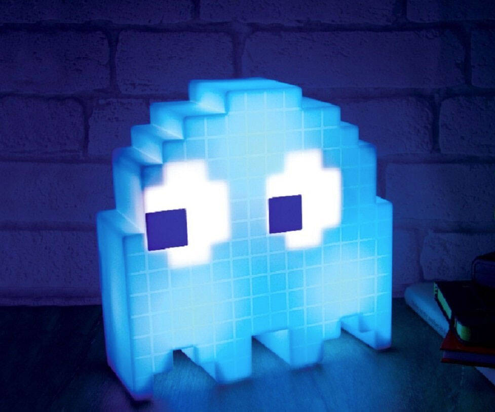 USB-Powered Pac-Man Ghost Light - http://coolthings.us