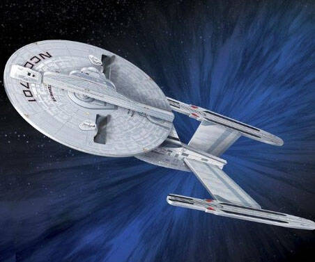 U.S.S. Enterprise Quadcopter - http://coolthings.us