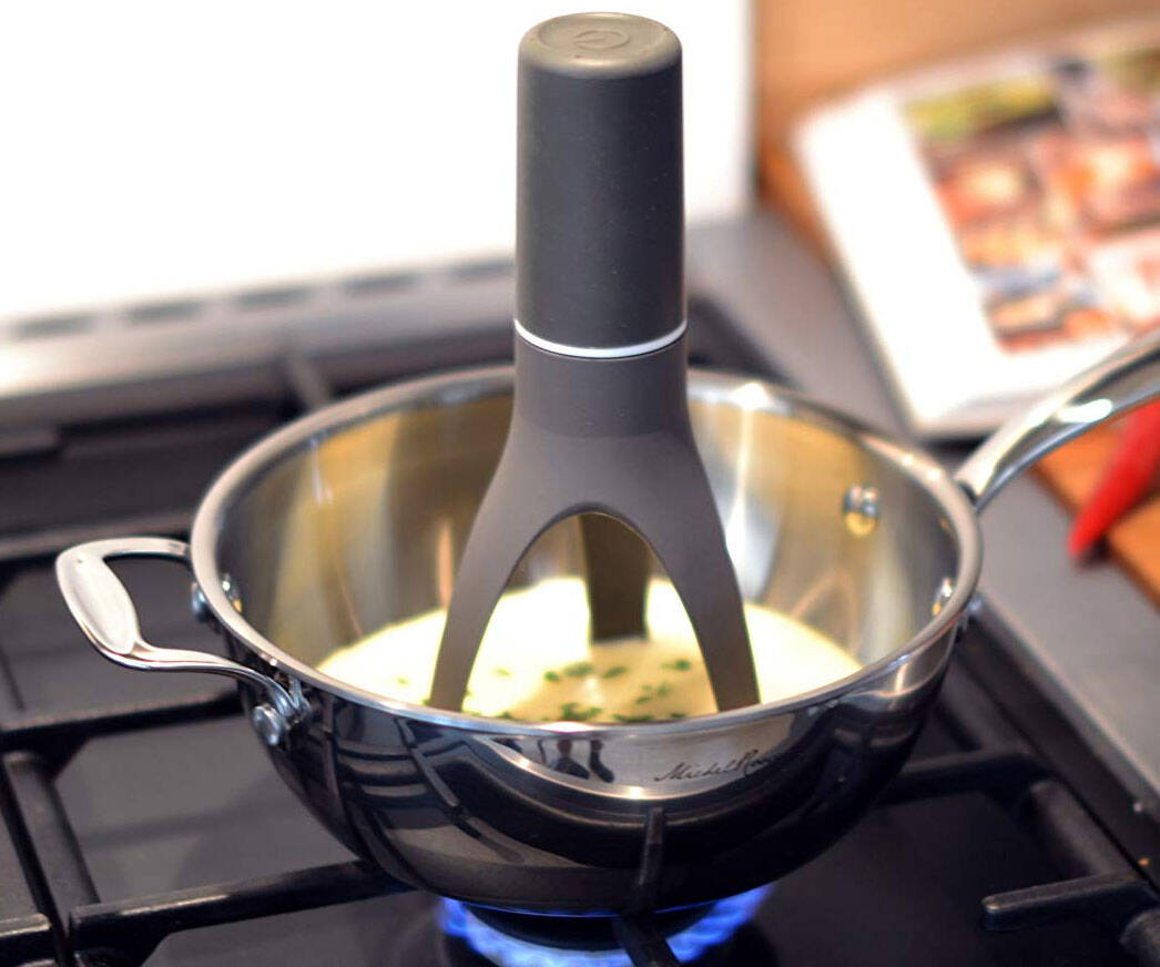 Automatic Pot Stirrer - http://coolthings.us