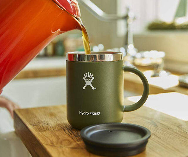 Vacuum Insulated Travel Coffee Mug - http://coolthings.us
