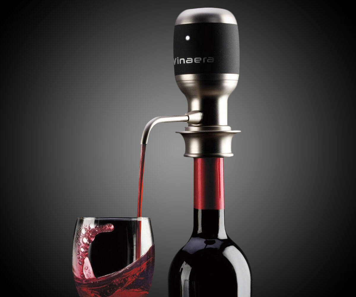 Vinaera Wine & Spirit Aerator & Dispenser - coolthings.us
