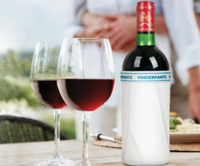 Vinderpants - Underwear for Wine - http://coolthings.us