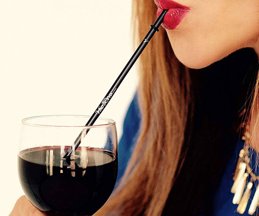 Wine Aeration Straw - http://coolthings.us
