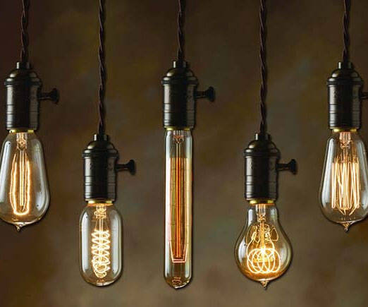 Vintage Light Bulb - http://coolthings.us