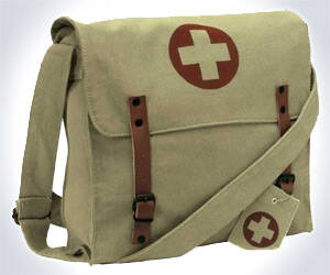 Vintage Style Medic Messenger Bag - http://coolthings.us