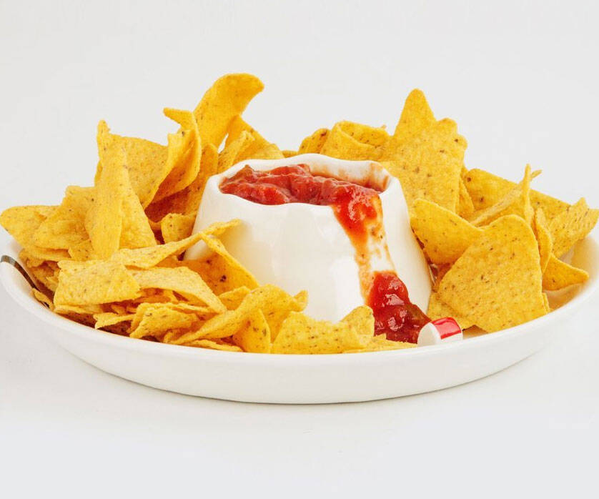 Volcano Eruption Serving & Dipping Bowl - http://coolthings.us