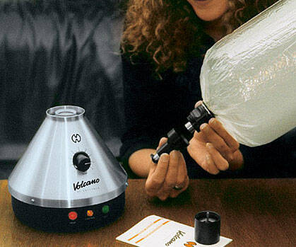 The Volcano Vaporizer - coolthings.us