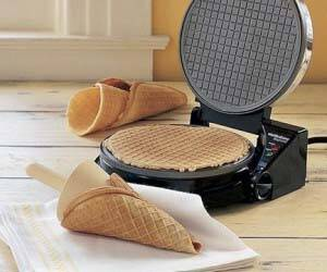 Waffle Cone Maker - http://coolthings.us