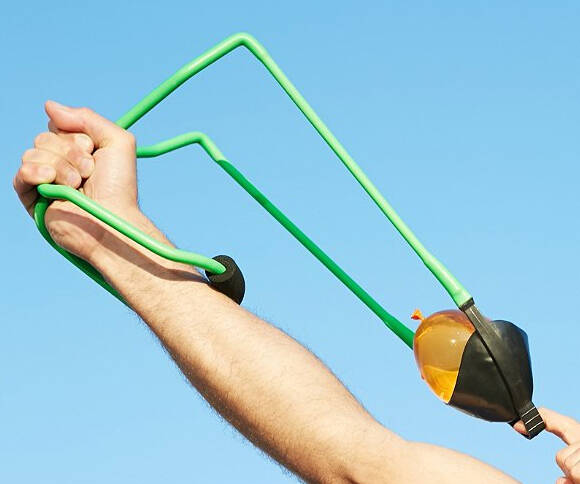 Water Balloon Launcher - http://coolthings.us