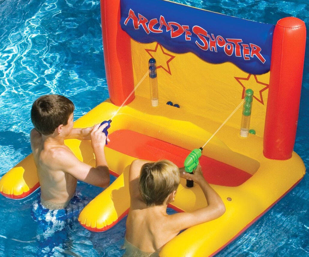 Water Shooter Pool Toy - http://coolthings.us