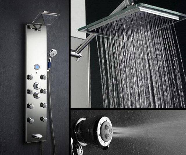Waterfall & Massage Shower Panel - coolthings.us