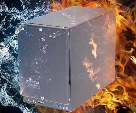 Waterproof And Fireproof Hard Drive - http://coolthings.us