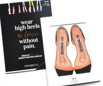 Weight-Shifting High-Heel Inserts - coolthings.us