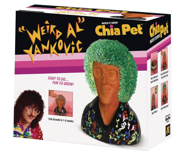 Weird Al Yankovic Chia Pet