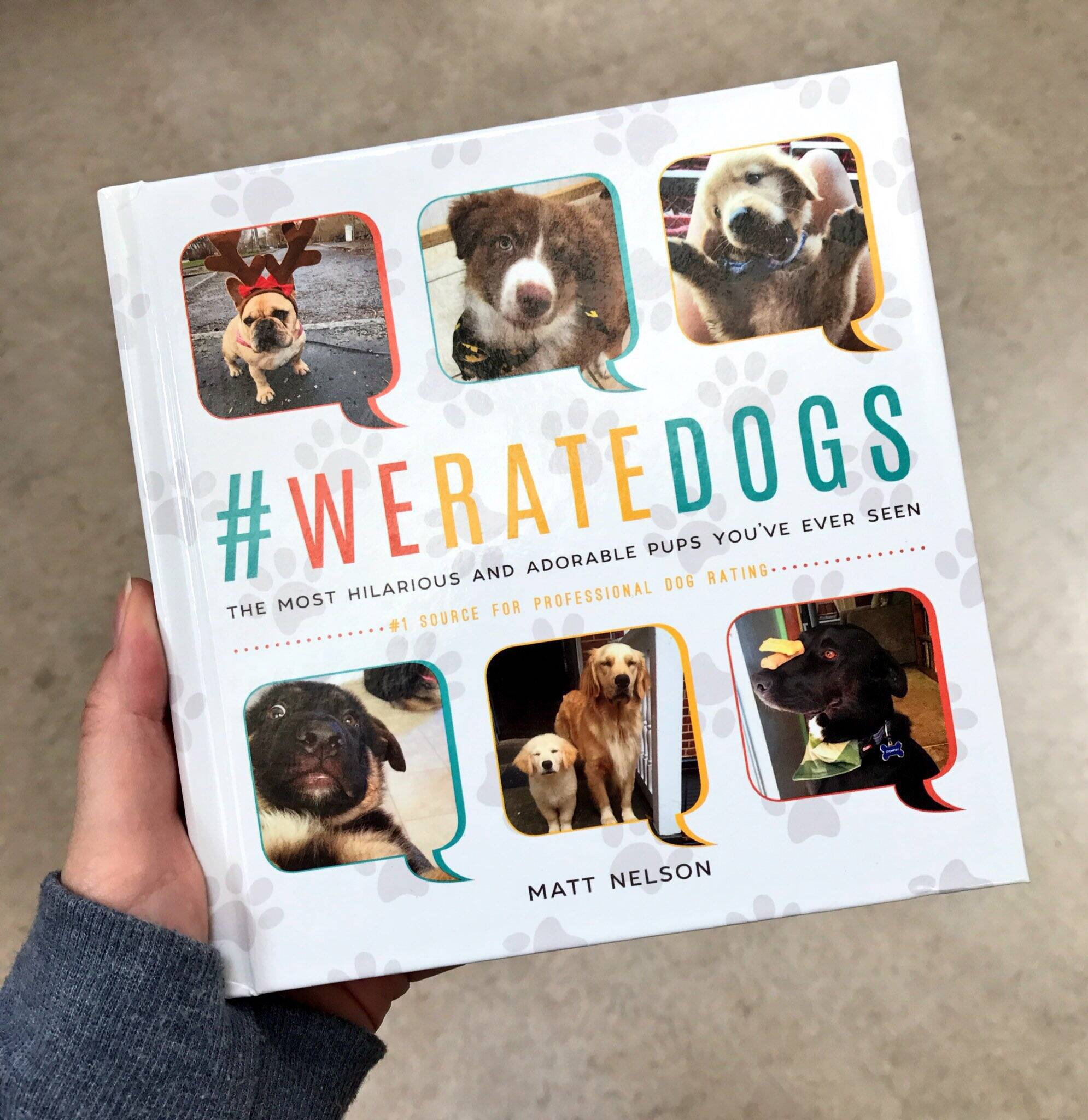 WeRateDogs Book - http://coolthings.us