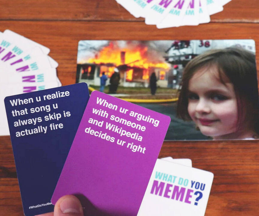 What Do You Meme Card Game - http://coolthings.us