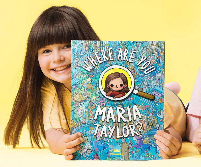 Find Yourself Personalized Kids Book - http://coolthings.us