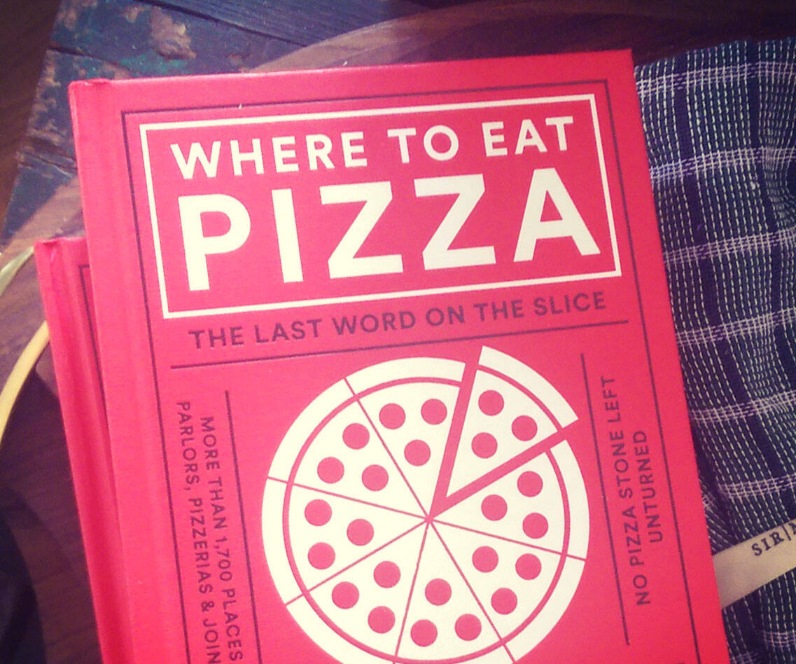 Where To Eat Pizza Book - http://coolthings.us