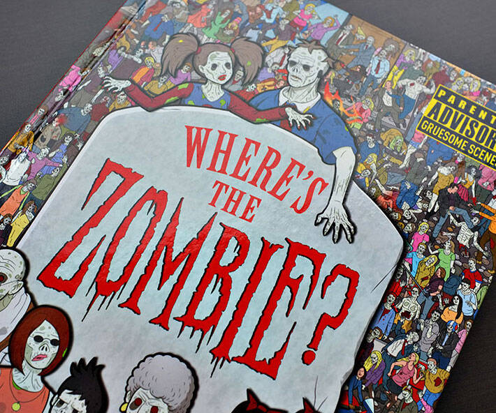Where's The Zombie Book - http://coolthings.us