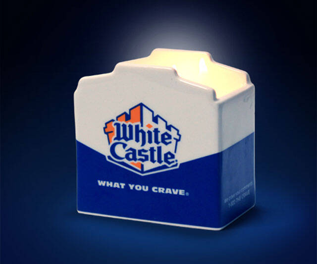 White Castle Scented Candle - http://coolthings.us