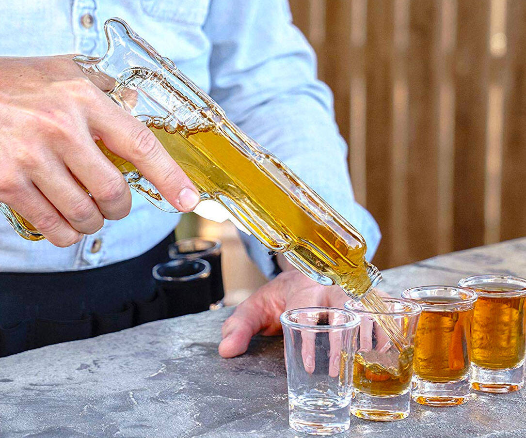 Whiskey Decanter Gun - coolthings.us