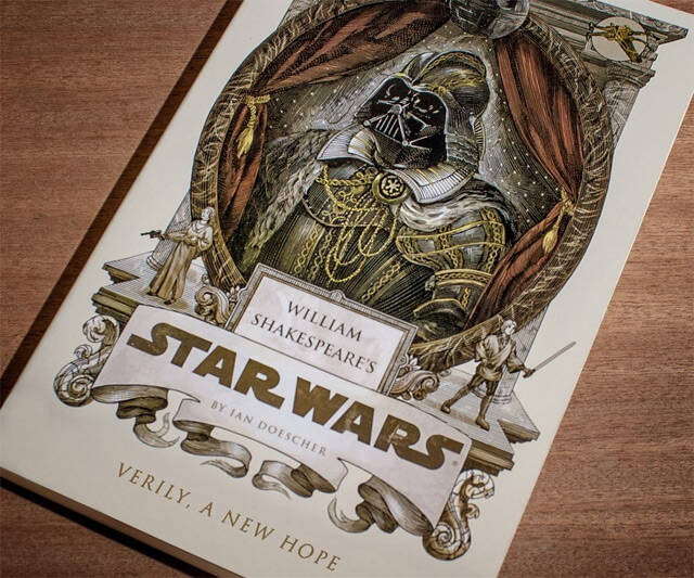William Shakespeare's Star Wars - http://coolthings.us