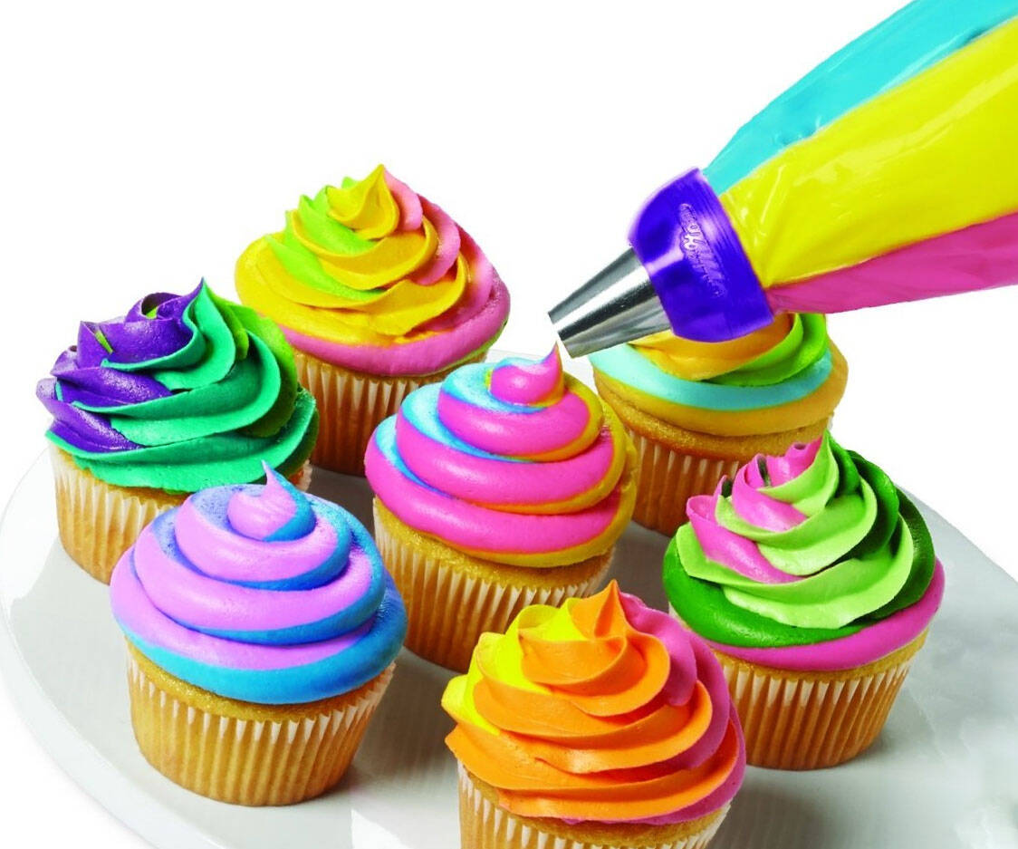 Multi-Color Swirl Icing Coupler - http://coolthings.us