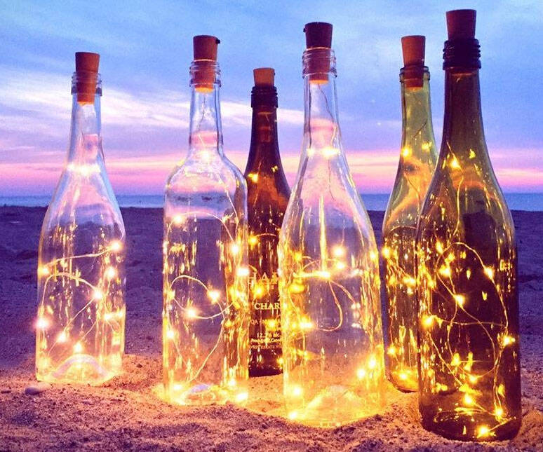 Cork String Lights - coolthings.us