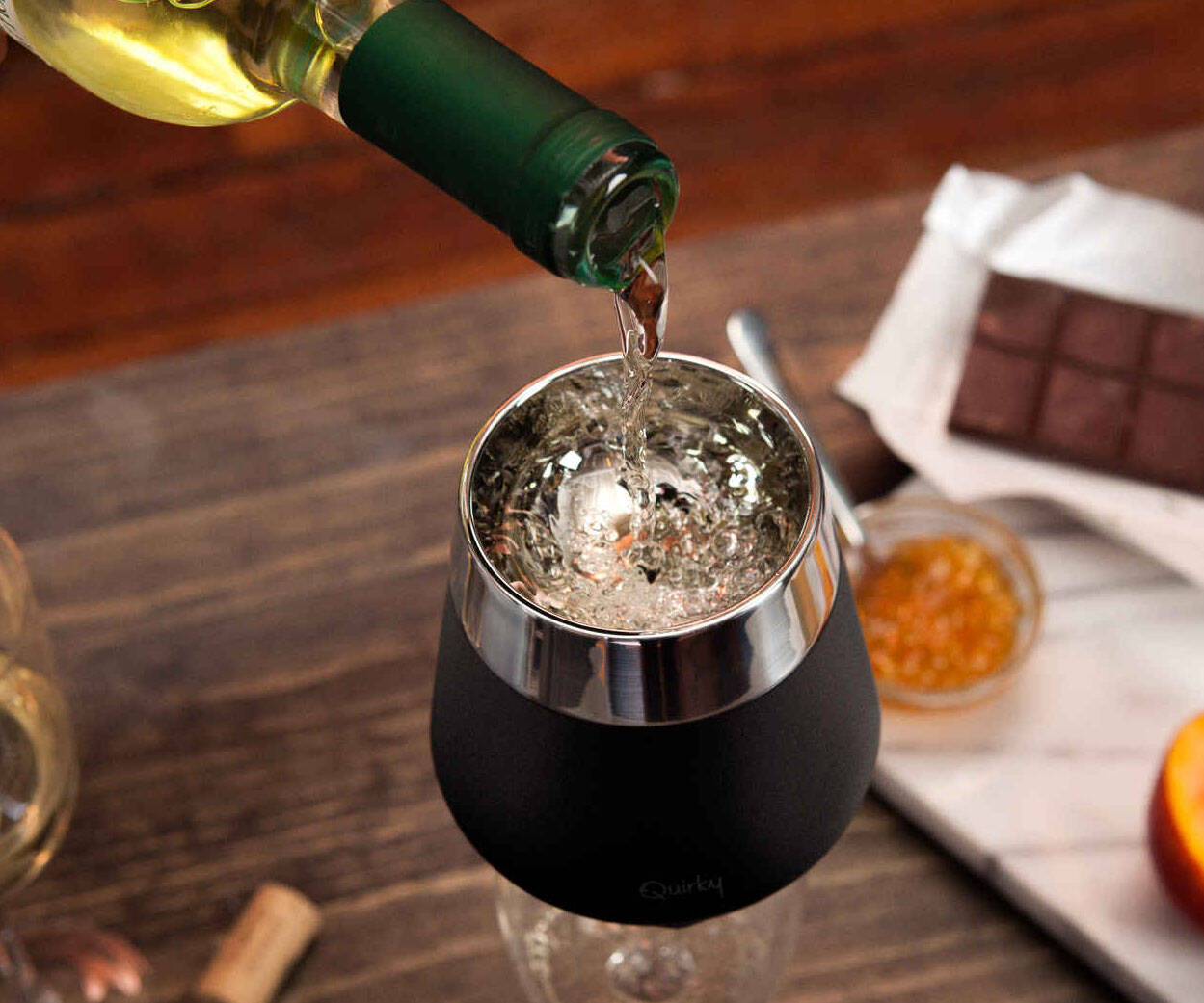 Instant Wine Chiller And Aerator - http://coolthings.us