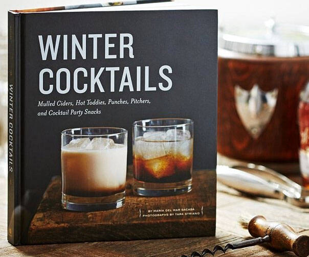 Winter Cocktails Book - coolthings.us