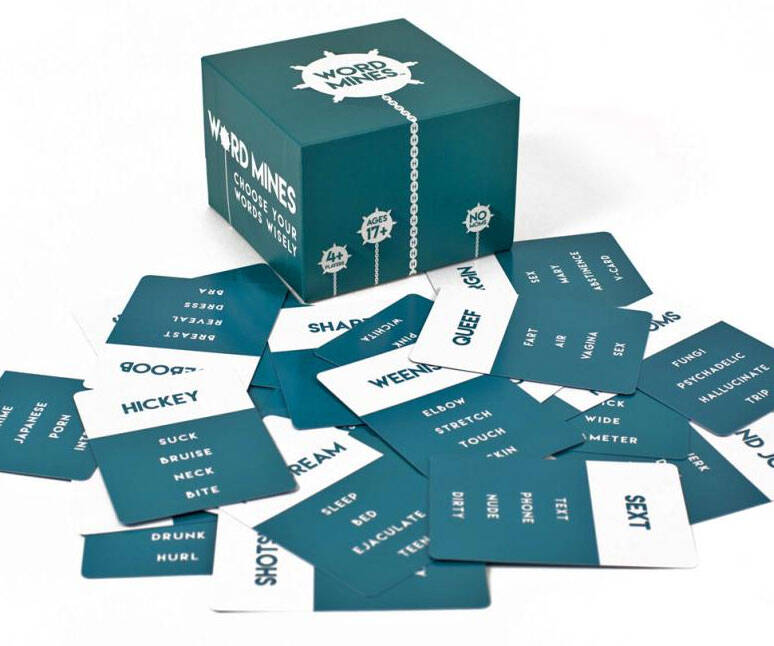 Word Mines Party Game - http://coolthings.us