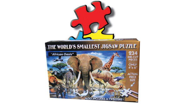 World's Smallest Puzzle - http://coolthings.us